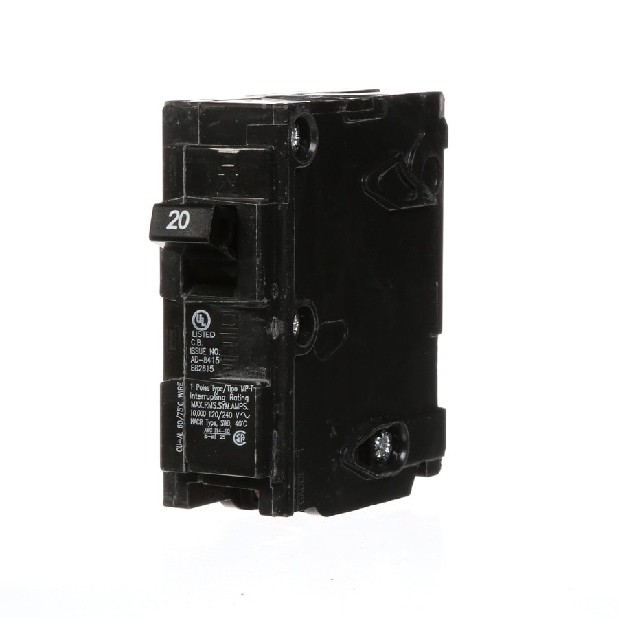 Shop Murray MP 20-Amp 1-Pole Main Circuit Breaker at Lowes.com
