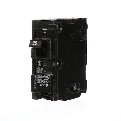 Mp 20-Amp 1-Pole Main Circuit Breaker on