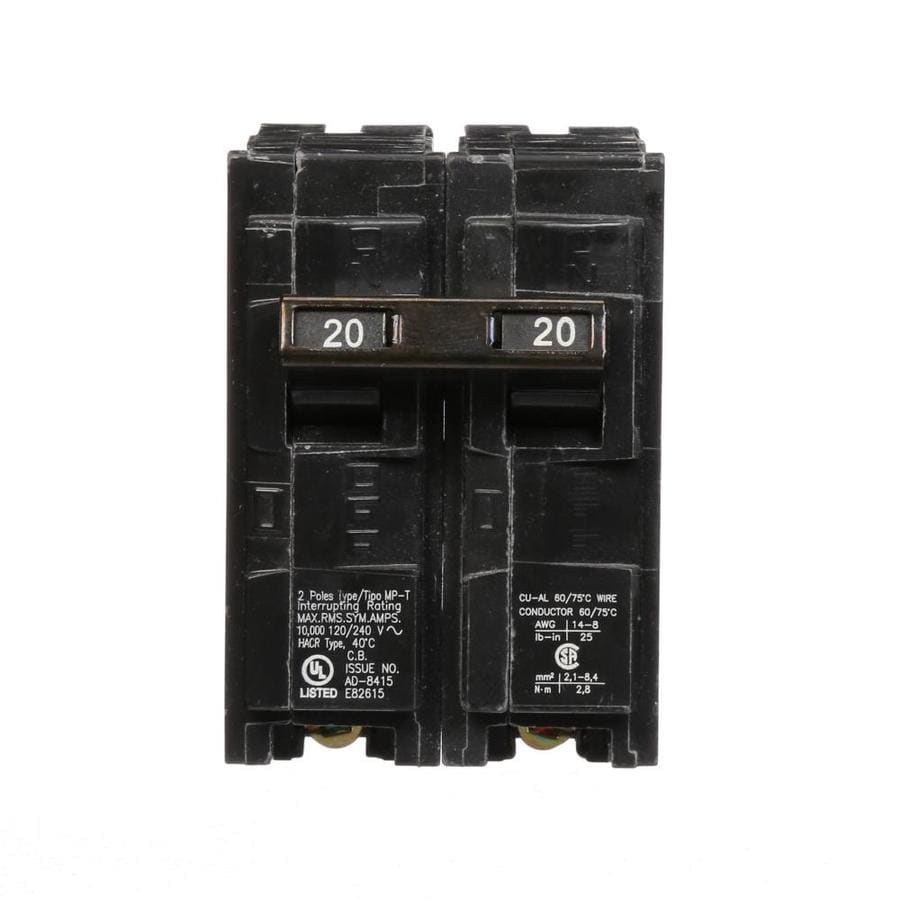 Murray Mp 20-Amp 2-Pole Main Circuit Breaker