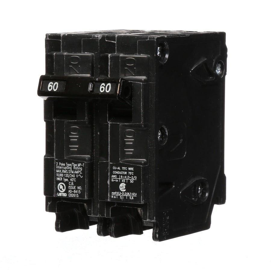 Murray Mp 60 Amp 2-Pole Double-Pole Circuit Breaker