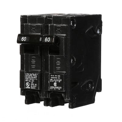 Mp 60-Amp 2-Pole Main Circuit Breaker on