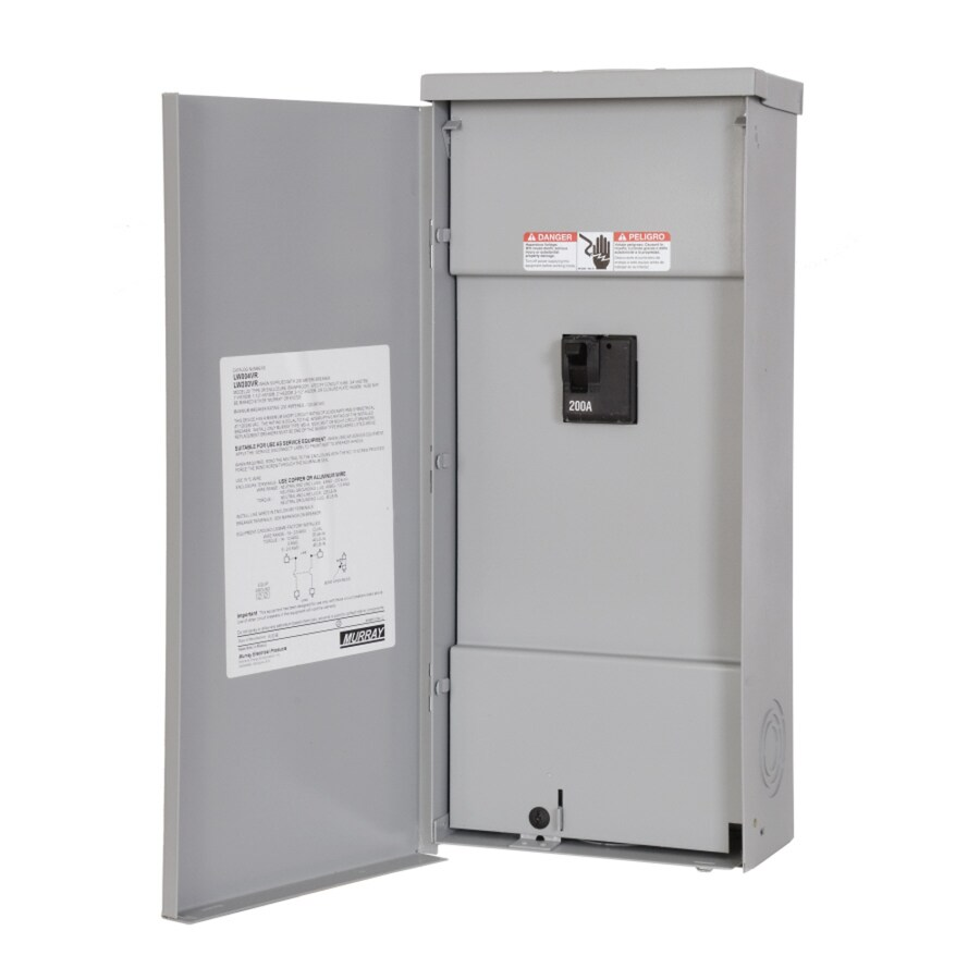 Murray 2-Circuit 2-Space 200-Amp Main Breaker Load Center
