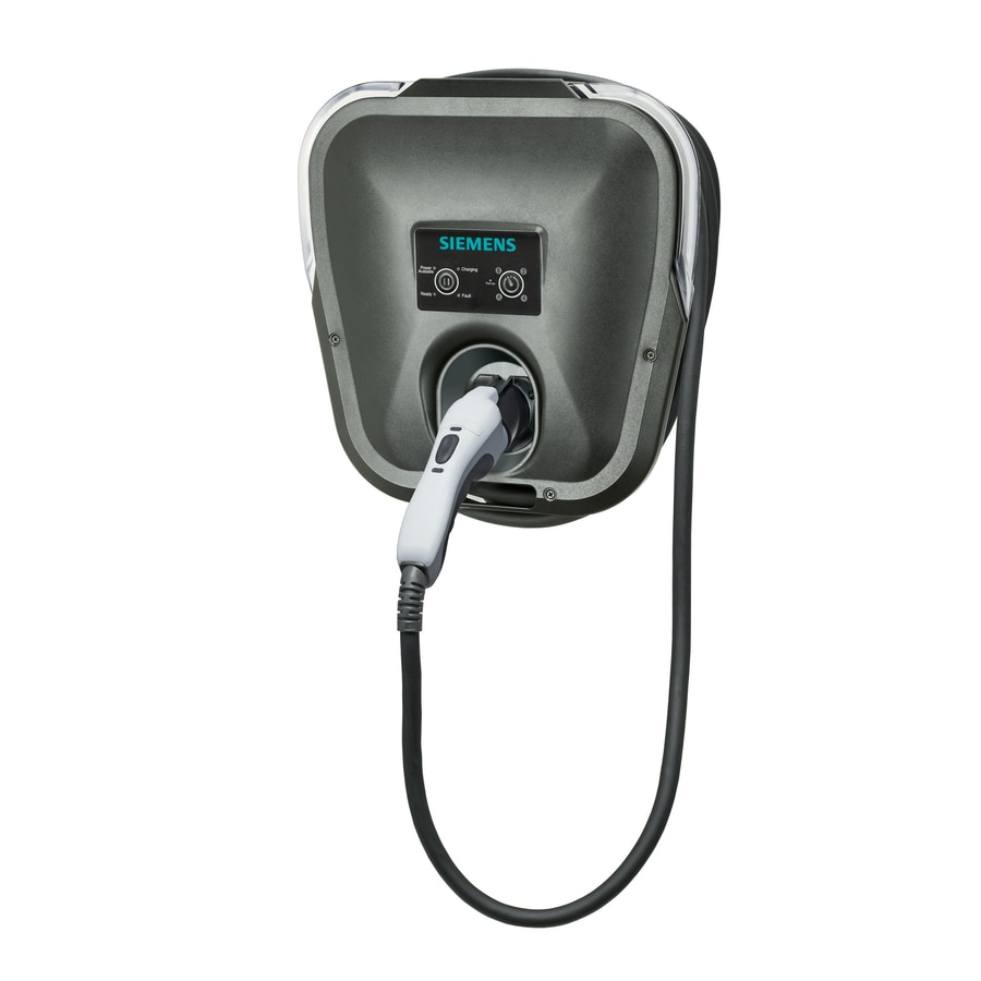 Siemens Versicharge Level 2 30-Amp Wall Mounted Single Electric Car Charger
