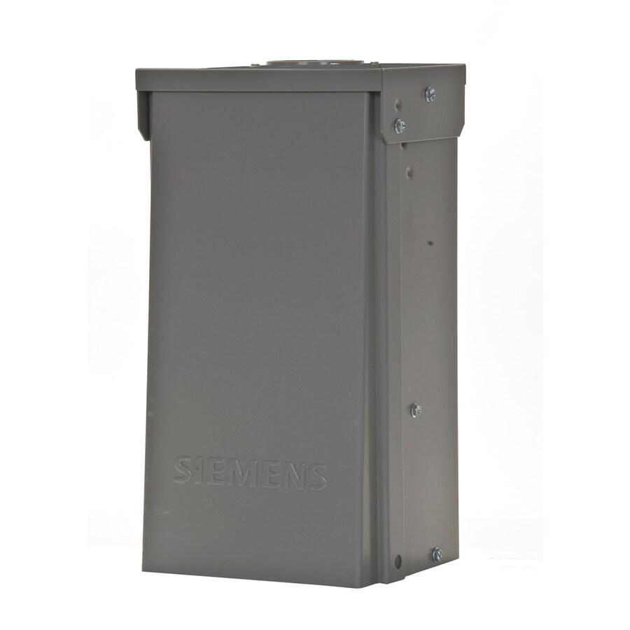 Siemens 125-Amp 2-Circuit Overhead or Underground Temporary Power Panel
