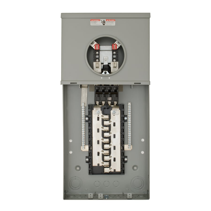 Siemens 200-Amp Ring Single Phase (120/240) Meter Socket