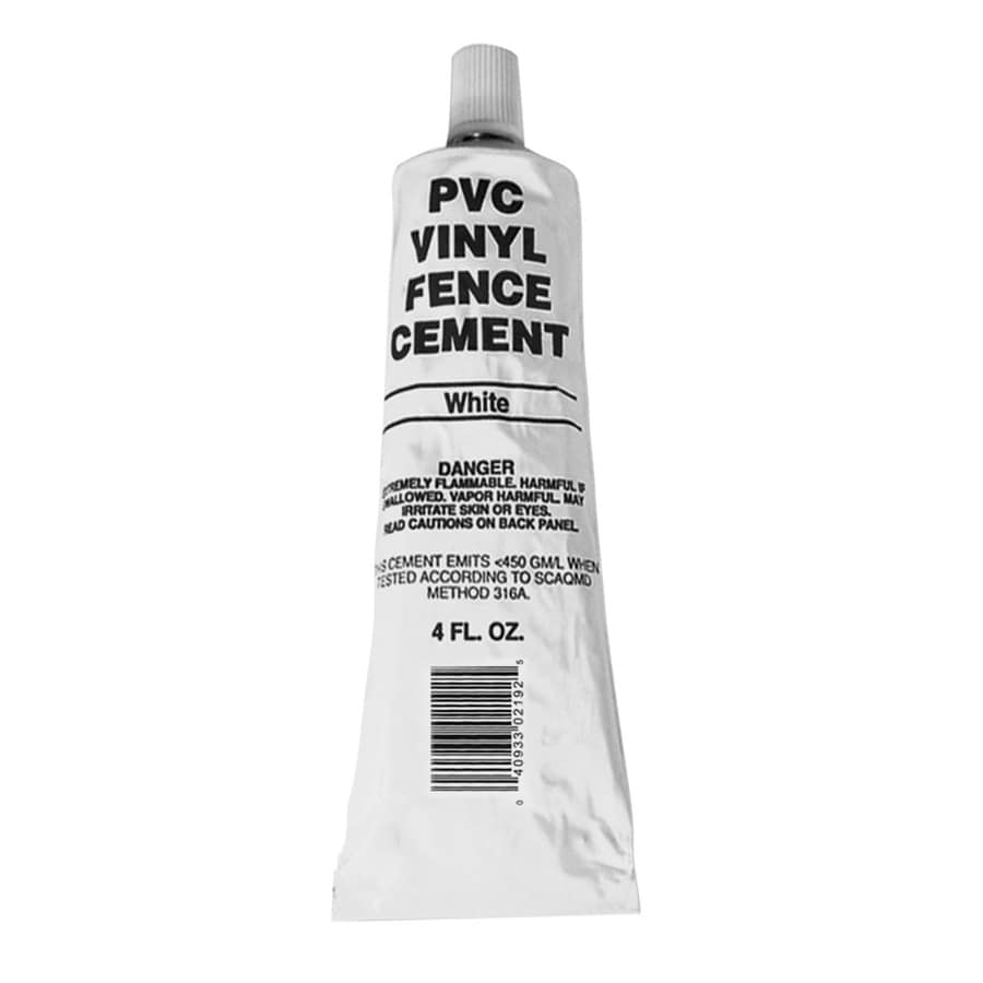 Freedom 4 Oz Pvc Vinyl Fence Cement At Lowes Com