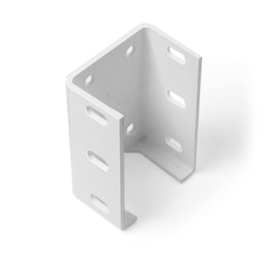 Freedom White Aluminum Fence Bracket