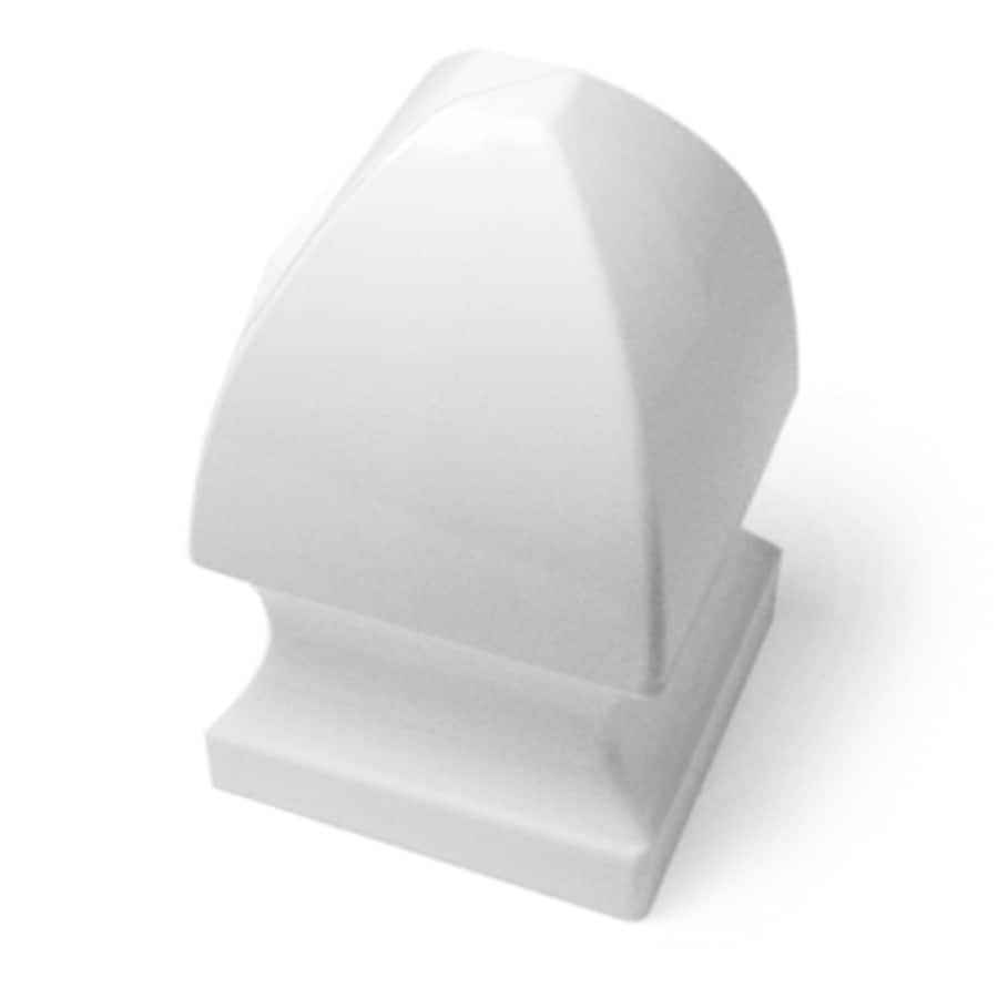 Post: Shop Freedom Vinyl Fence Post Cap At Lowes.com