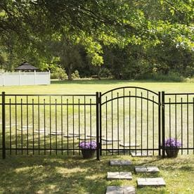 Decorative Metal Fence Fence Panels At Lowes Com