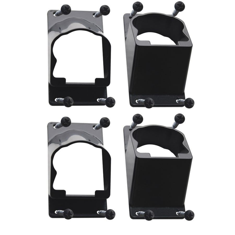 Barrette Breadloaf Black Stair Bracket Kit
