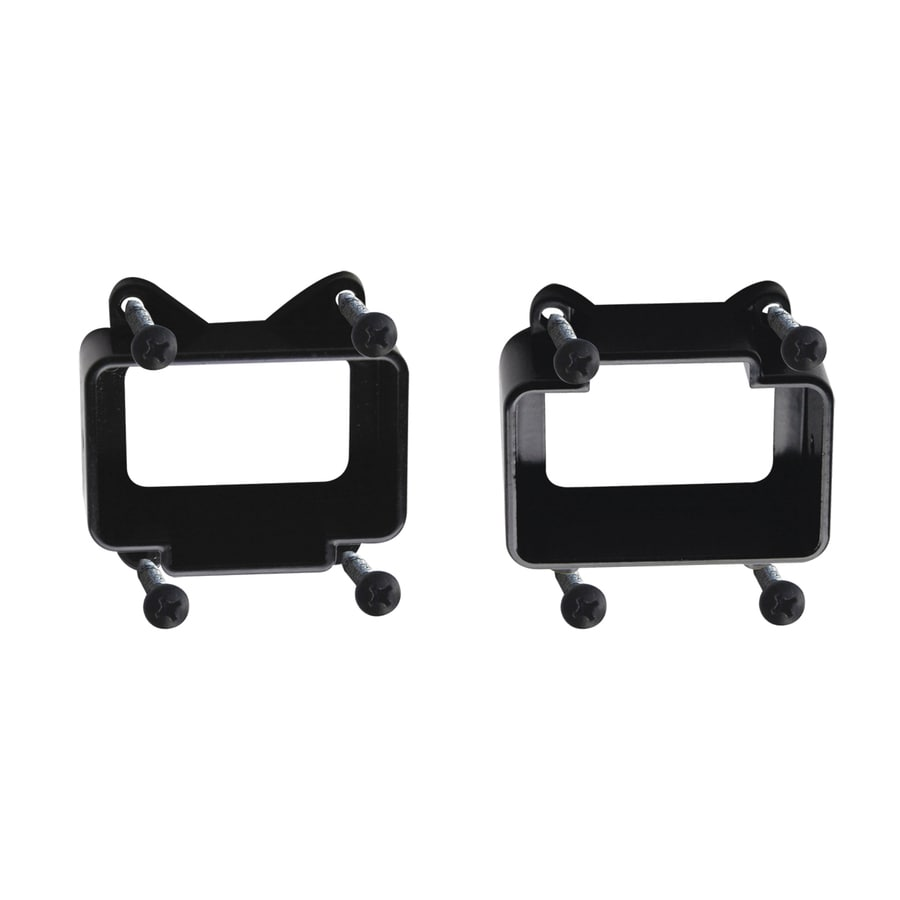 Barrette Flat Top Black Line Bracket Kit