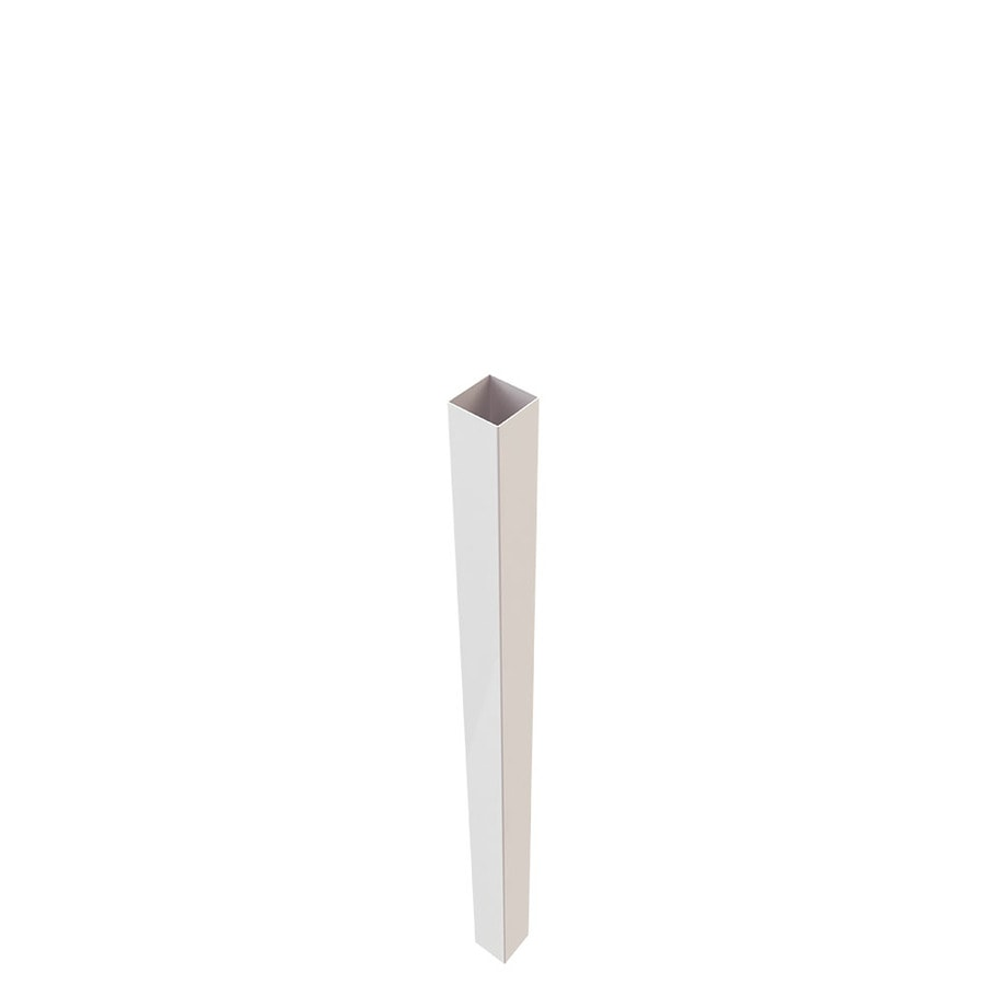 Freedom (Common: 5-in x 5-in x 7-ft; Actual: 5-in x 5-in x 7-ft) White Vinyl Blank Post