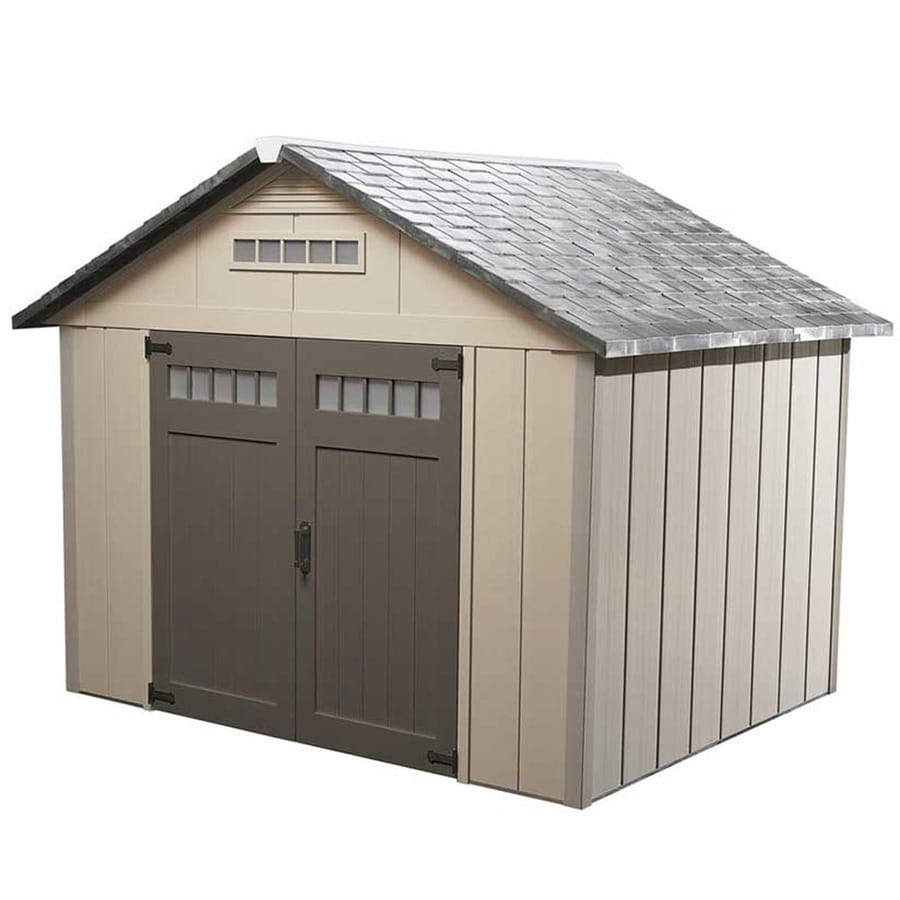 Shop Homestyles Premier Gable Storage Shed (Common: 10-ft