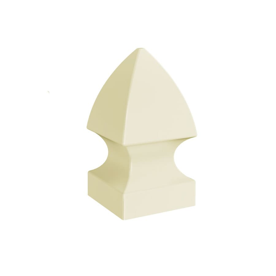 Freedom (Fits Common Post Measurement: 4-in; Actual: 4.125-in x 4.125-in) Sand Vinyl Post Cap