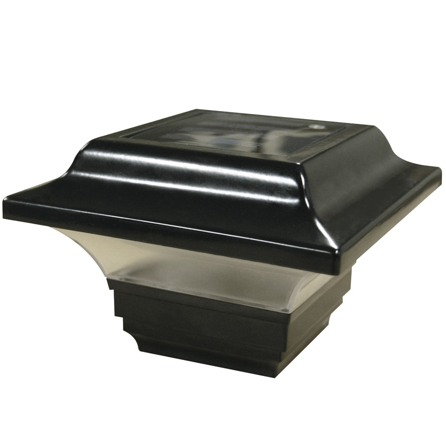 Freedom VersaRail Black Aluminum Deck Post Cap