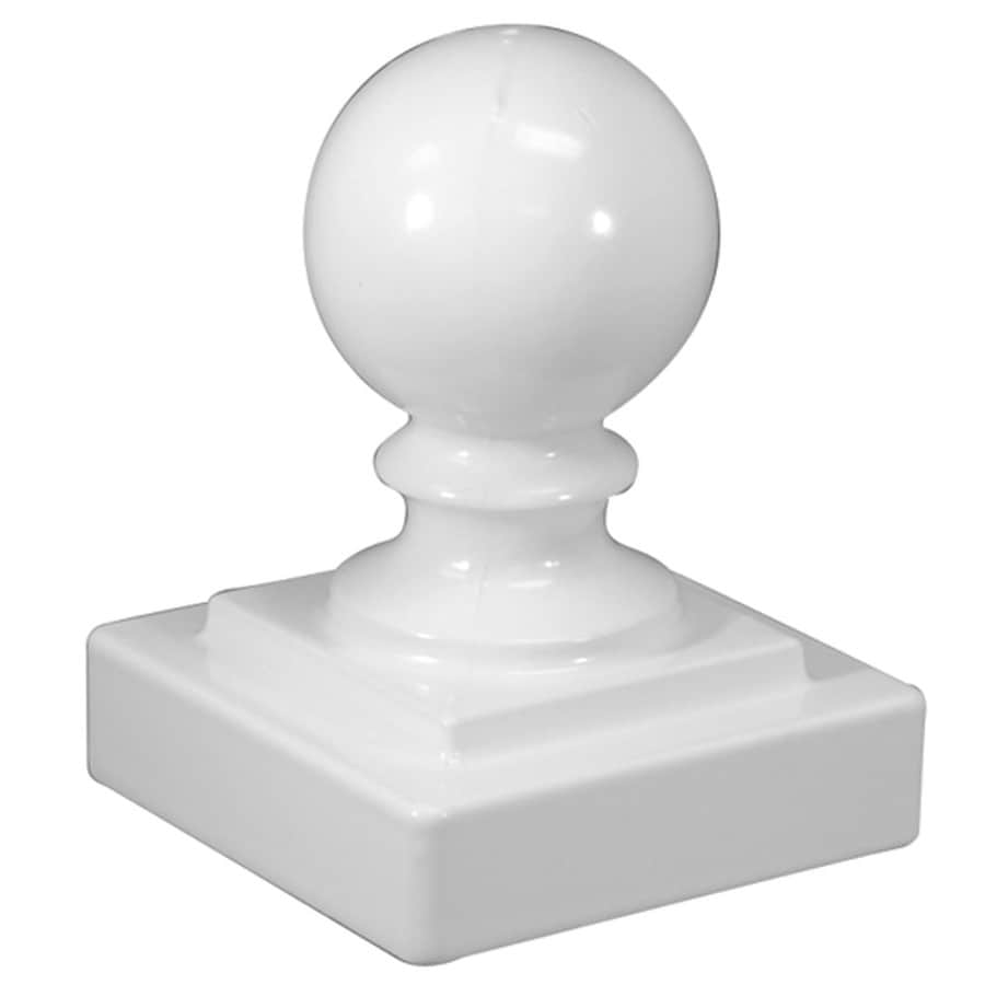 Freedom (Fits Common Post Measurement: 2-in; Actual: 2.25-in x 2.25-in) Standard White Aluminum Post Cap