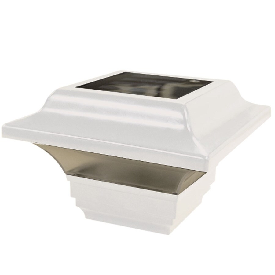 Barrette VersaRail White Aluminum Deck Post Cap