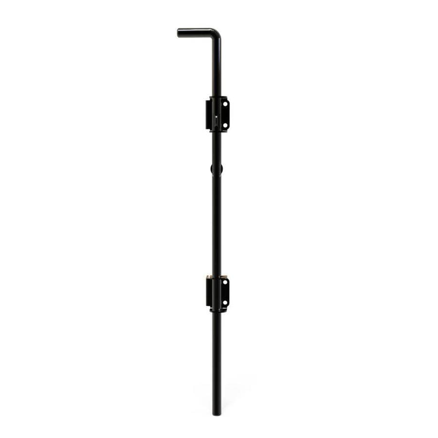 Freedom Heavy Duty 5 1 4 In Black Gate Drop Rod At Lowes Com