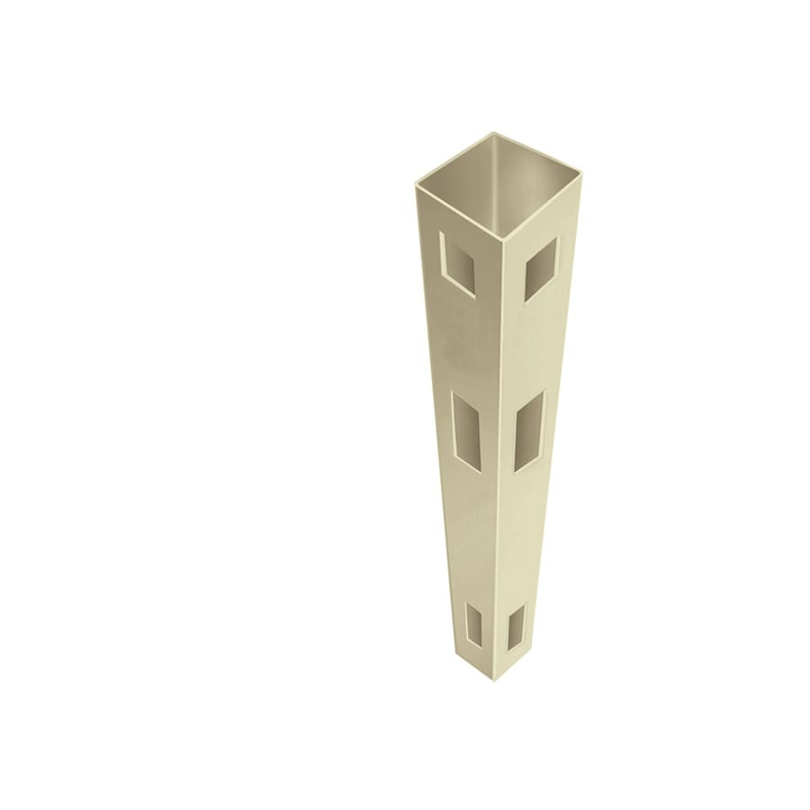 Freedom (Common: 5-in x 5-in x 8-1/2-ft; Actual: 5-in x 5-in x 8.5-ft) Ready-To-Assemble Sand Vinyl Corner Post