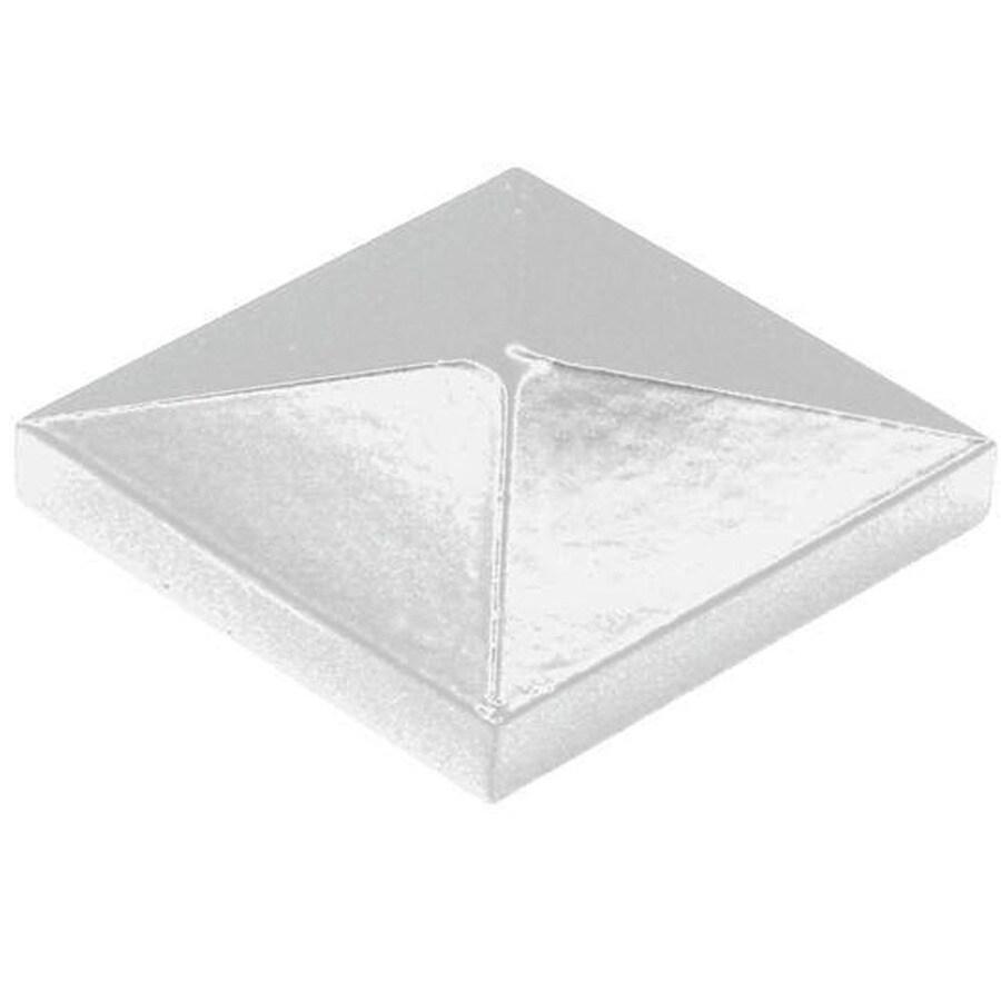 Freedom VersaRail White Aluminum Deck Post Cap
