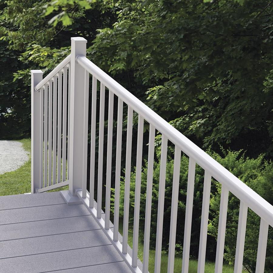 Freedom Winchester 42-in White Aluminum Porch Railing Kit