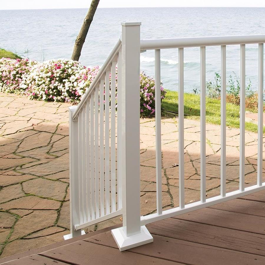 Freedom 2.5-in W x 2.5-in L x 39-in H Painted Aluminum Porch Post Kit