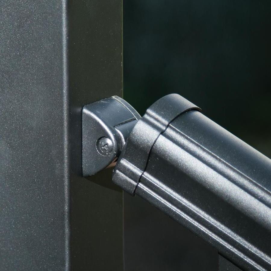 Freedom Cambridge Matte Black Aluminum Stair Post Connector