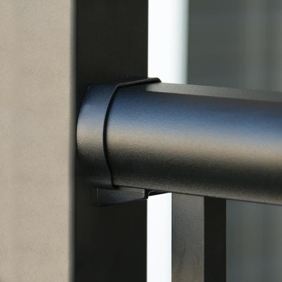 Freedom Winchester Matte Black Aluminum Post Connector