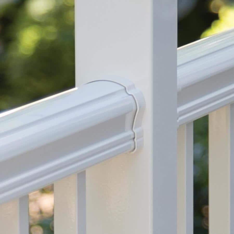 Freedom Cambridge 4-Pack Aluminum Straight Porch Railing Brackets