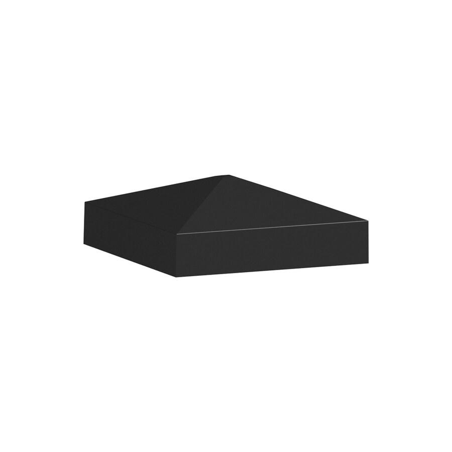 Freedom Mix&Match Black Aluminum Deck Post Cap
