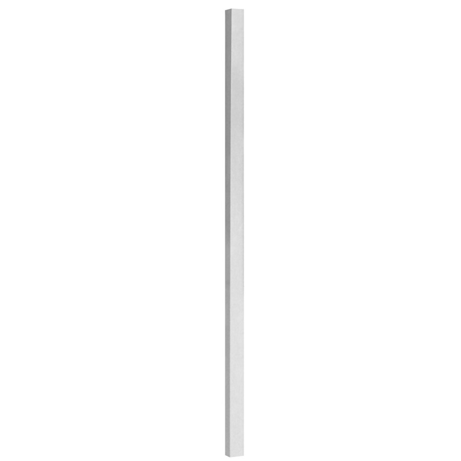 Freedom VersaRail 45-in White Unfinished Aluminum Porch Post