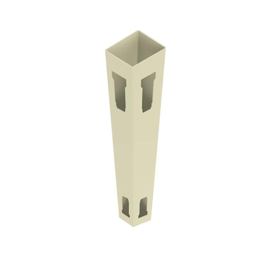 Freedom (Common: 5-in x 5-in x 9-ft; Actual: 5-in x 5-in x 9-ft) Ready-To-Assemble Sand Vinyl Corner Post