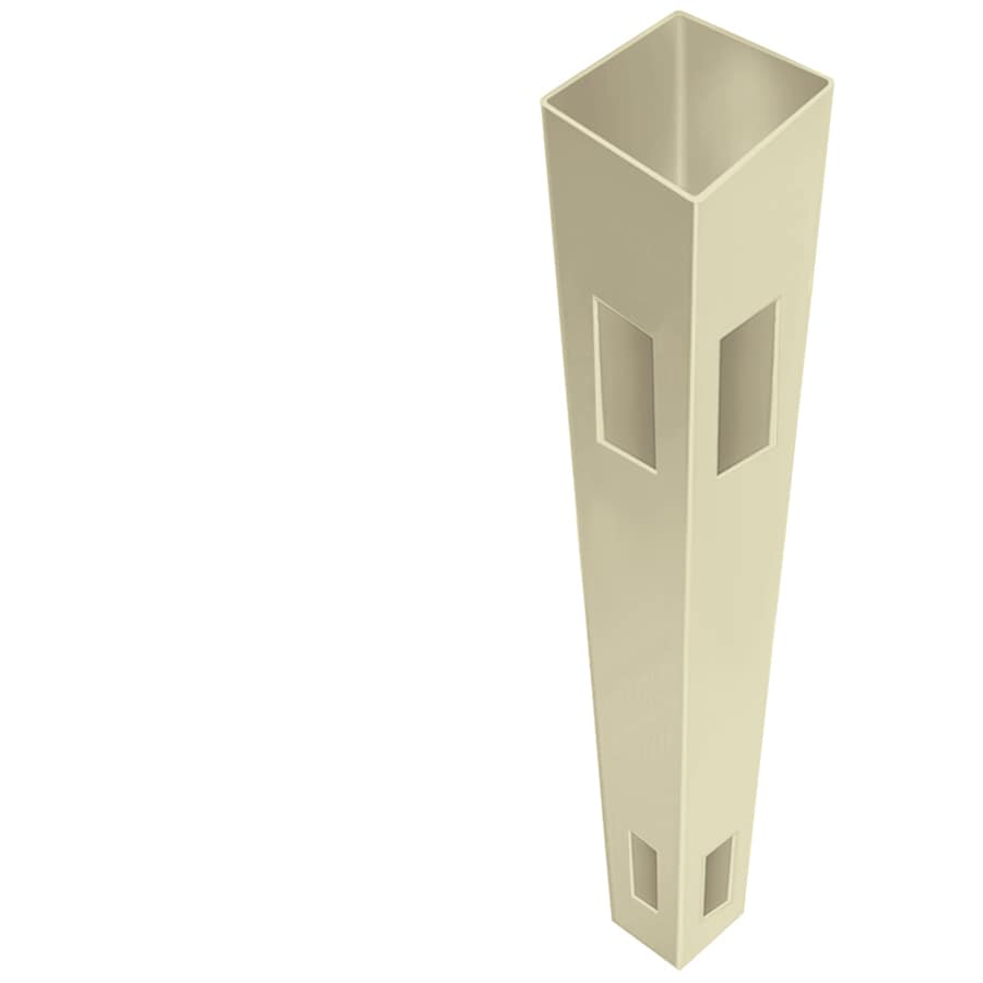 Freedom (Common: 5-in x 5-in x 7-ft; Actual: 5-in x 5-in x 7-ft) Ready-To-Assemble Sand Vinyl Corner Post