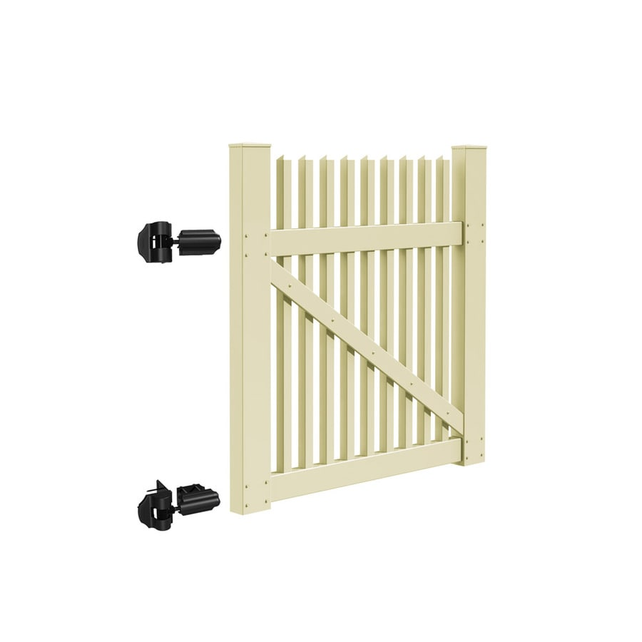 Freedom (Common: 4-ft x 4-ft; Actual: 3.83-ft x 3.83-ft) Carlisle Sand Vinyl Gate Kit