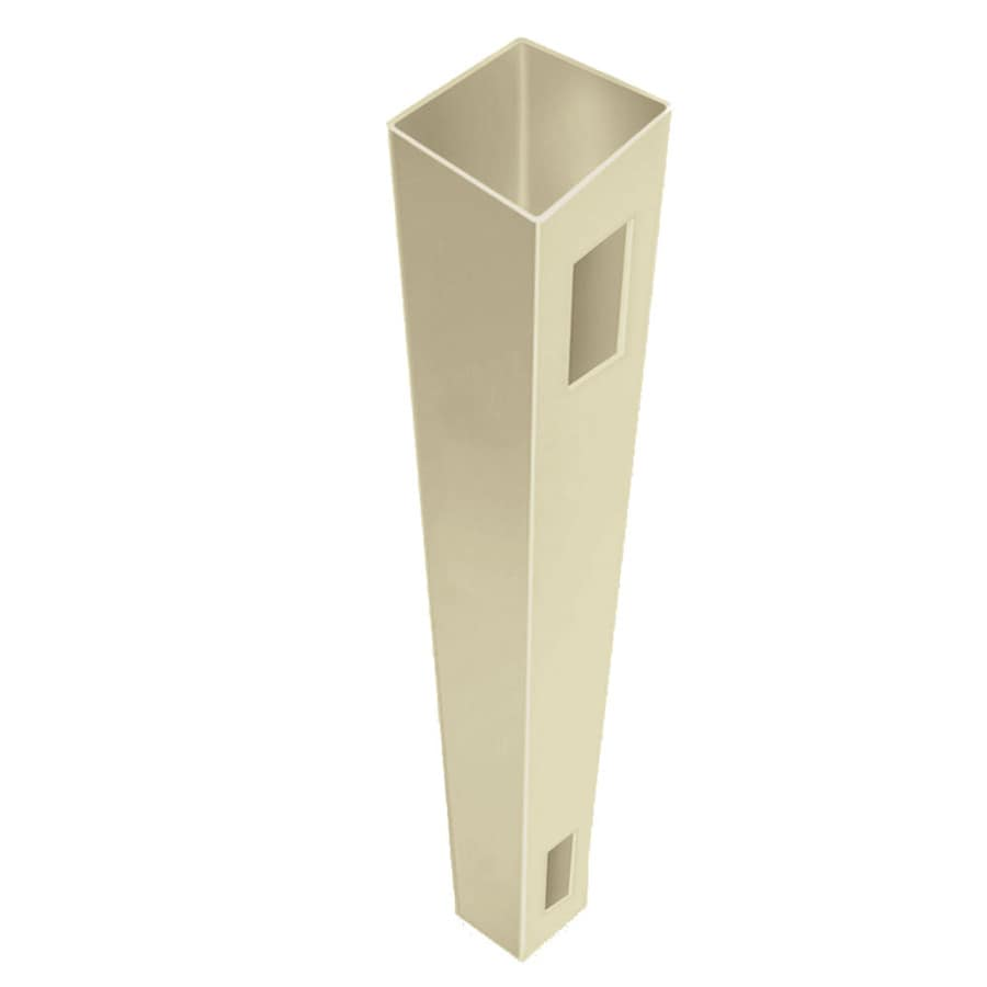 Freedom (Common: 4-in x 4-in x 6-ft; Actual: 4-in x 4-in x 6-ft) Ready-To-Assemble Sand Vinyl End Post