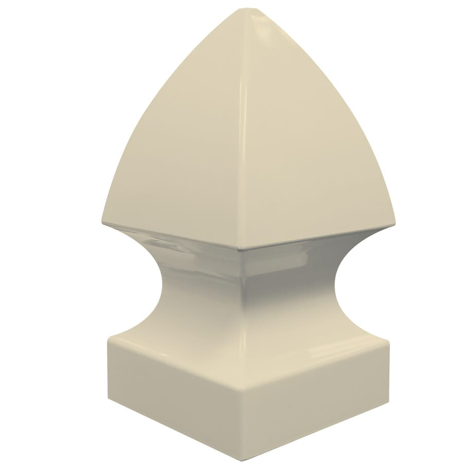 Freedom (Fits Common Post Measurement: 5-in; Actual: 5-in x 5-in) Sand Vinyl Post Top