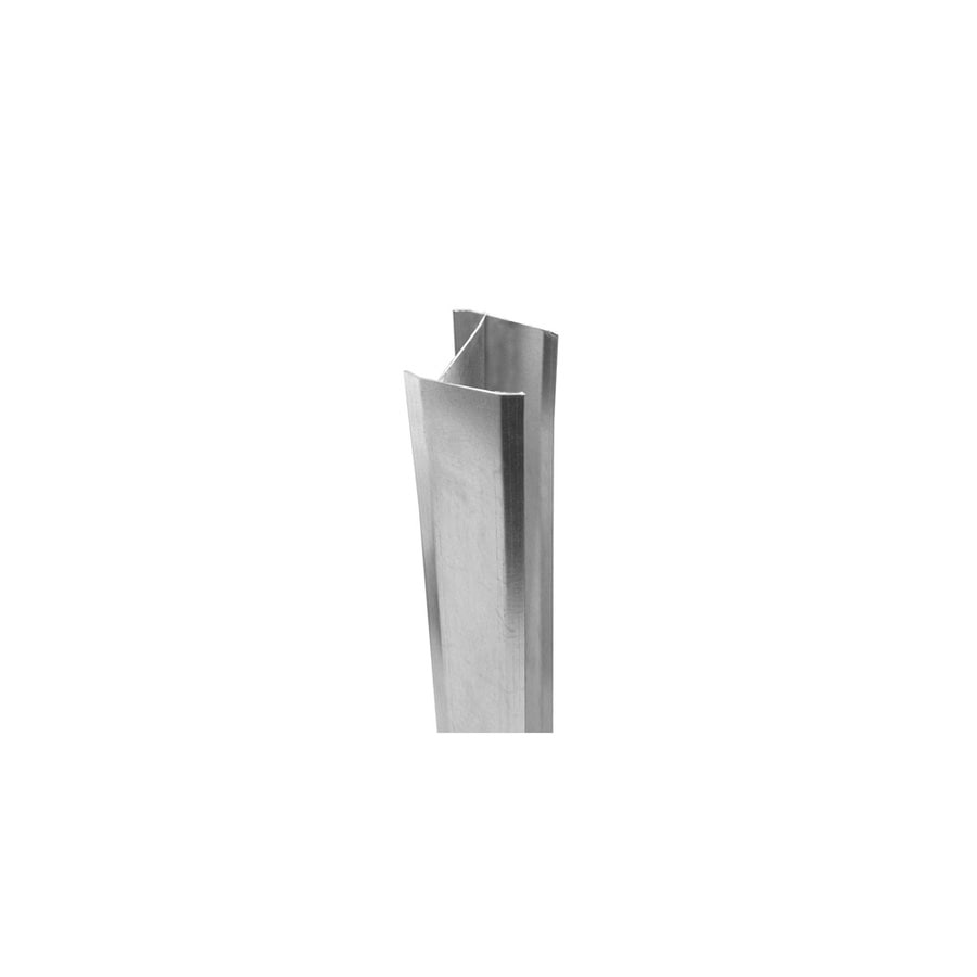 Shop Freedom Metal Aluminum Fence Post Insert At Lowes Com