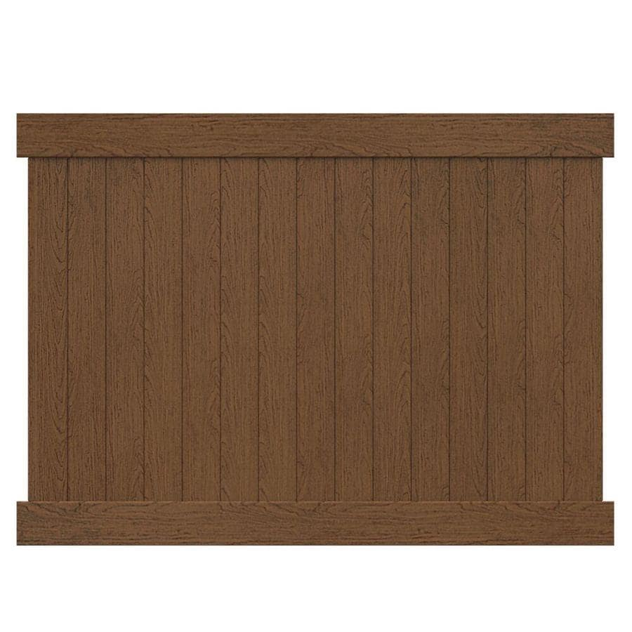 vinyl fence panels lowes. Freedom (Actual: 5.84-ft X 7.57-ft) Ready-to- Vinyl Fence Panels Lowes A