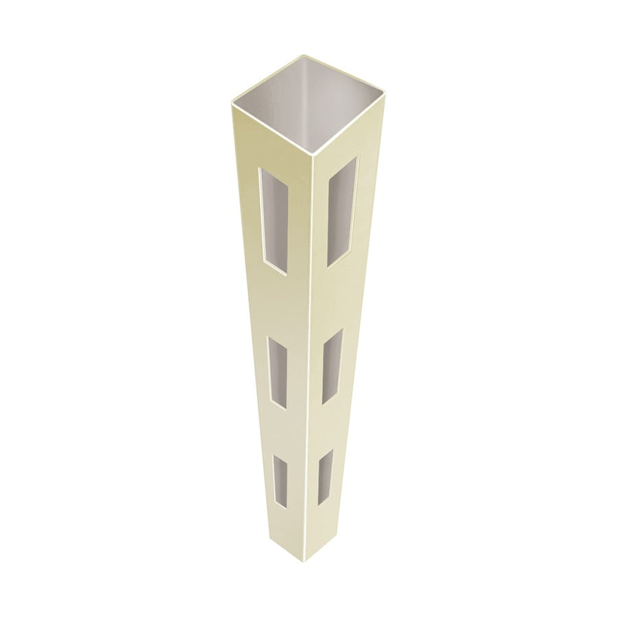 Freedom (Common: 5-in x 5-in x 12-ft; Actual: 5-in x 5-in x 12-ft) Ready-To-Assemble Sand Vinyl Corner Post