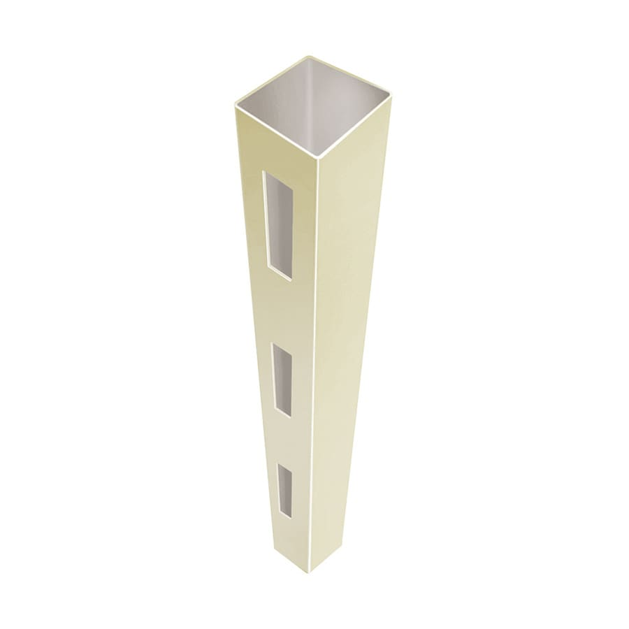 Freedom (Common: 5-in x 5-in x 12-ft; Actual: 5-in x 5-in x 12-ft) Ready-to-Assemble Sand Vinyl End Post