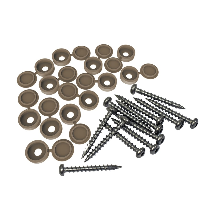 Freedom 12-Pack 1.5-in Saddle Lattice Screw