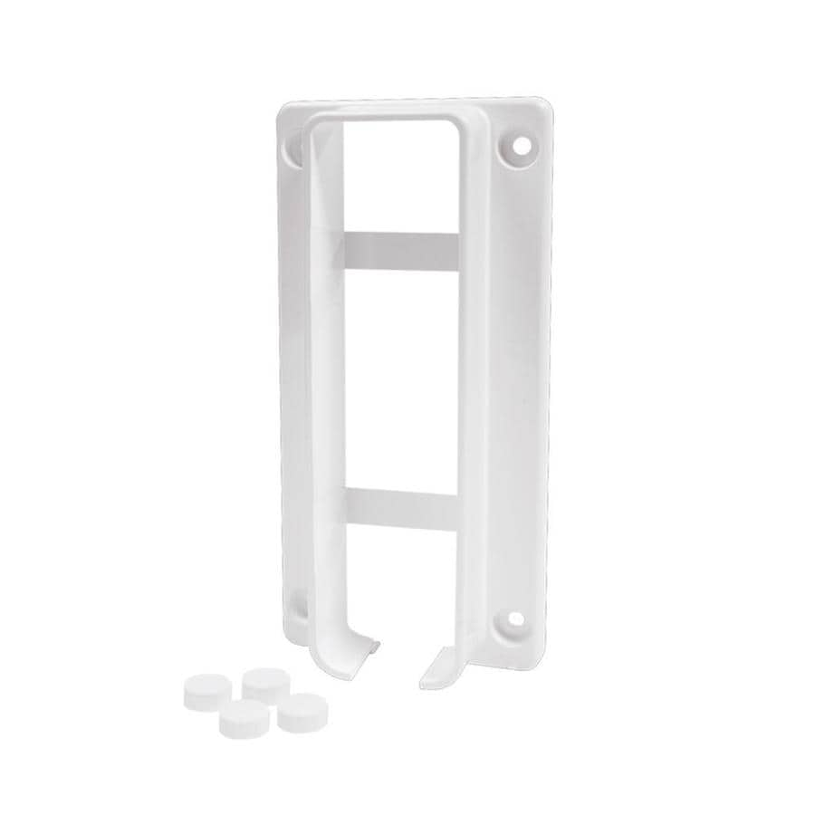 Freedom Ready-to-Assemble White Vinyl Fence Bracket