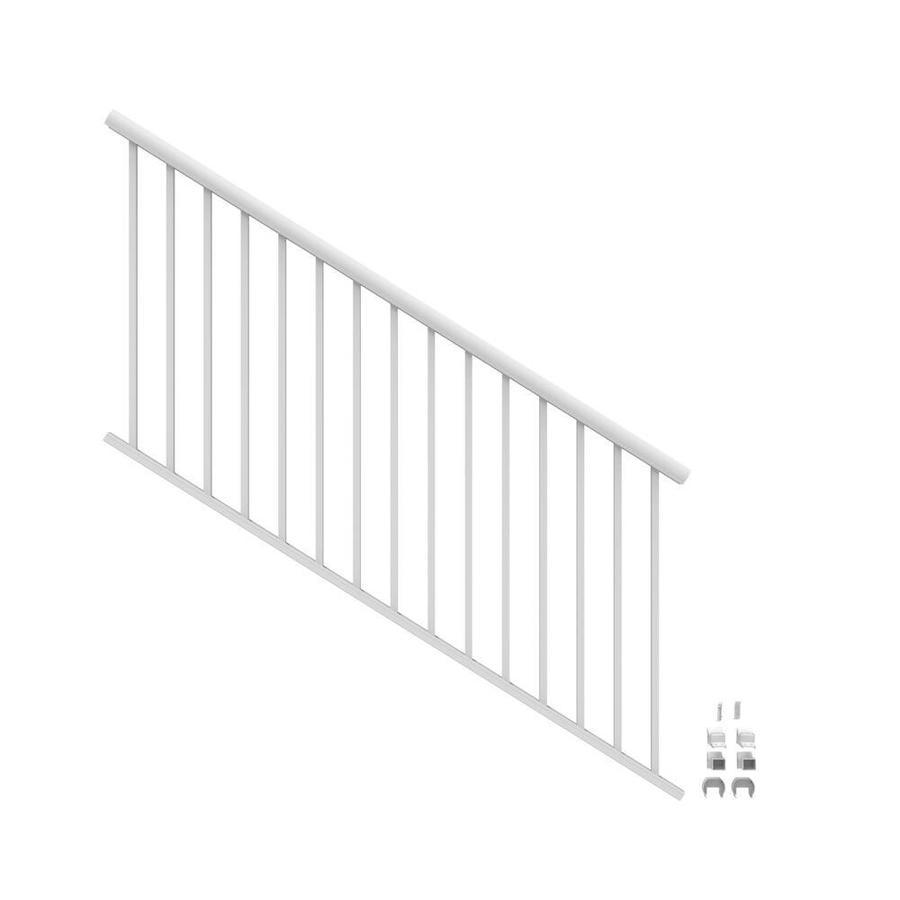 Freedom (Assembled: 6-ft x 3-ft) Winchester White Aluminum ...