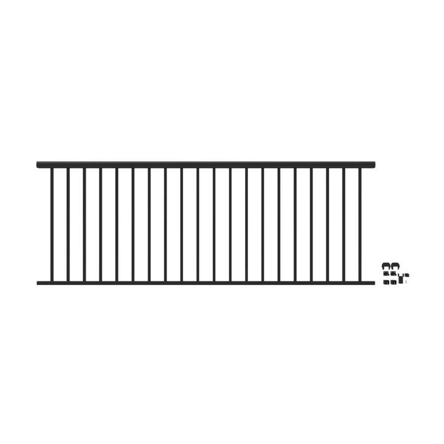 Aluminum Deck Railing: Freedom (Assembled: 8-ft X 3-ft) Winchester Matte Black