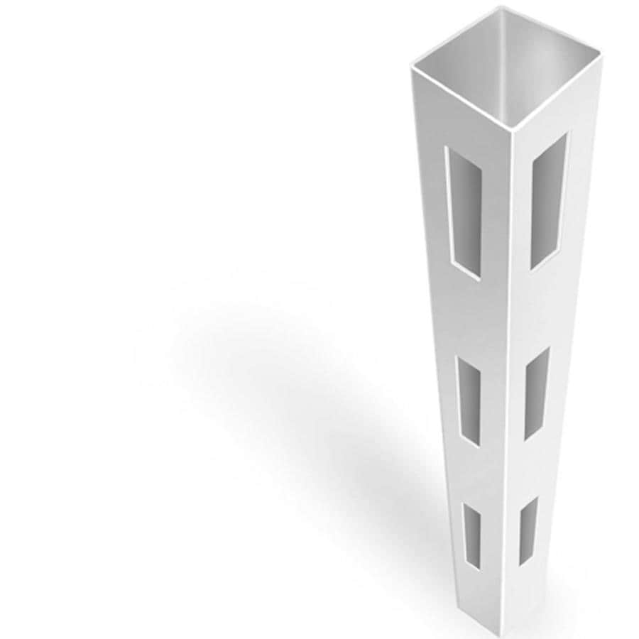 Freedom (Common: 4-3/4-in x 4-3/4-in x 7-ft; Actual: 4.75-in x 4.75-in x 7-ft) Ready-To-Assemble White Vinyl Corner Post