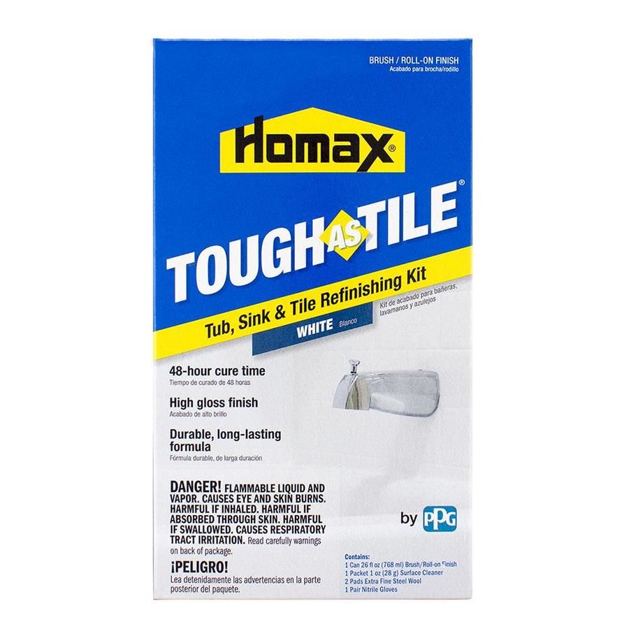 Tough As Tile White High-Gloss Tub and Tile Resurfacing Kit (Actual Net Contents: 21-fl oz)