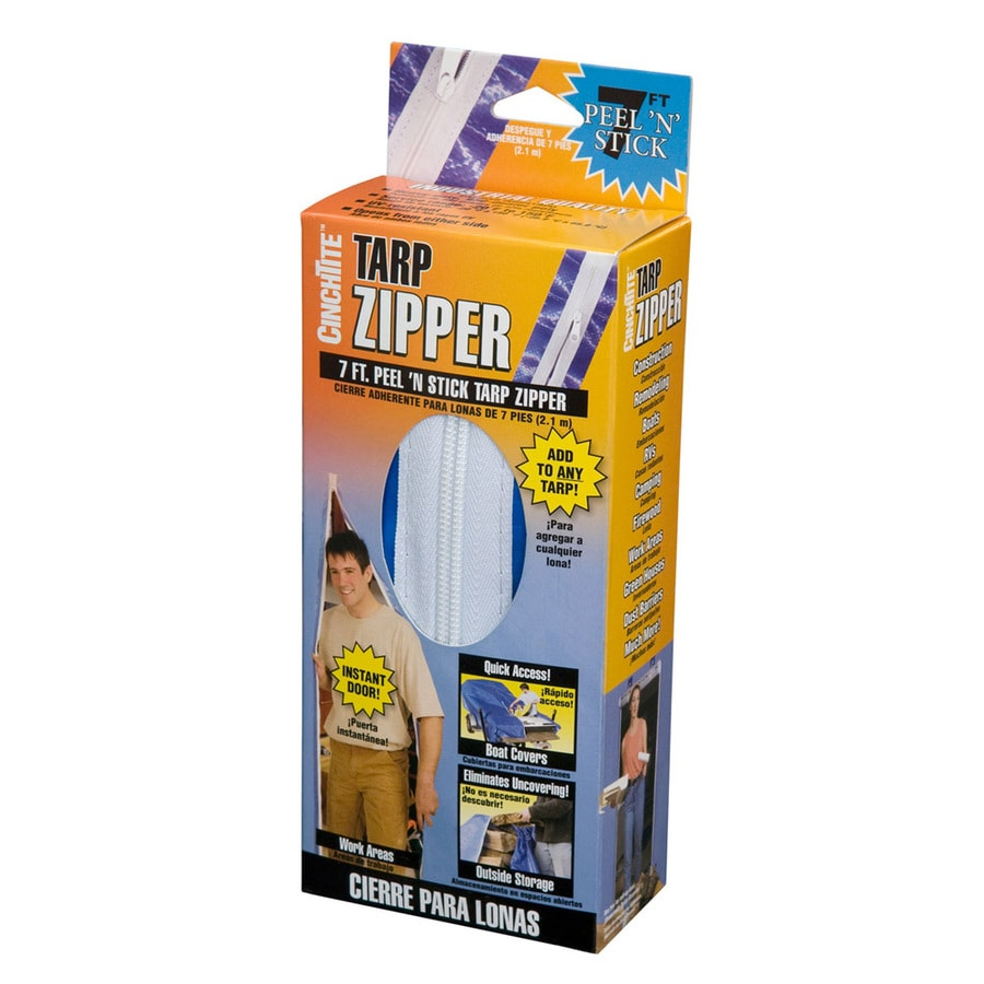CinchTite Tarp Zipper Door