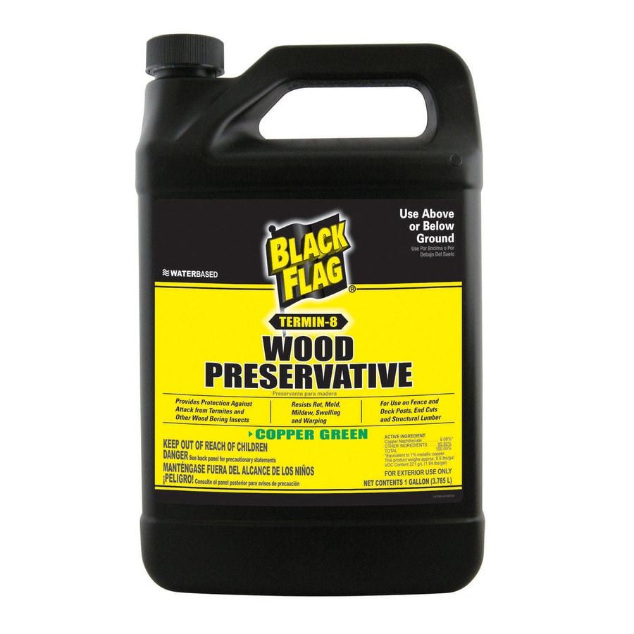 Black Flag Gallon Non Pressure Treated Wood Sealant At