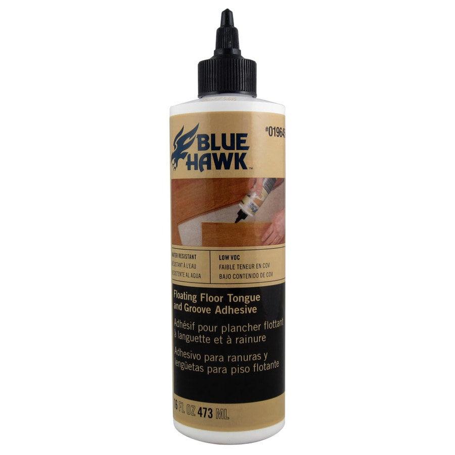Blue Hawk Wood And Laminate Flooring Glue 16 Oz