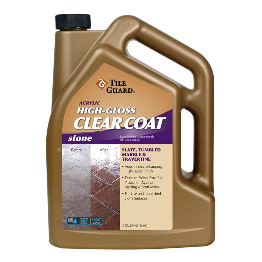Burgundy Acrylic High Gloss: Shop Tile Guard 128 Oz. Acrylic High-Gloss Floor Finish At